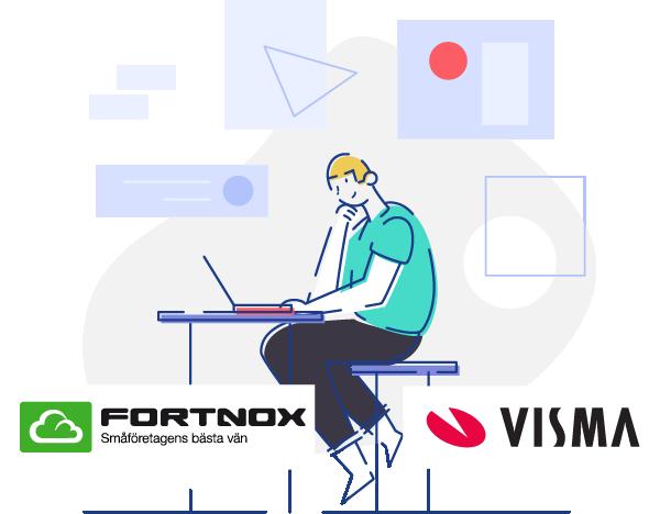 Integrera fiberadministrationen med Visma och Fortnox